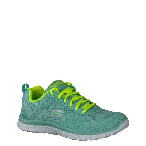 SKECHERS, FLEX SOLE, BLAU