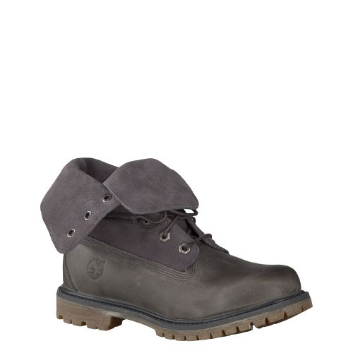 TIMBERLAND, SUEDE ROLL TOP, GRAU