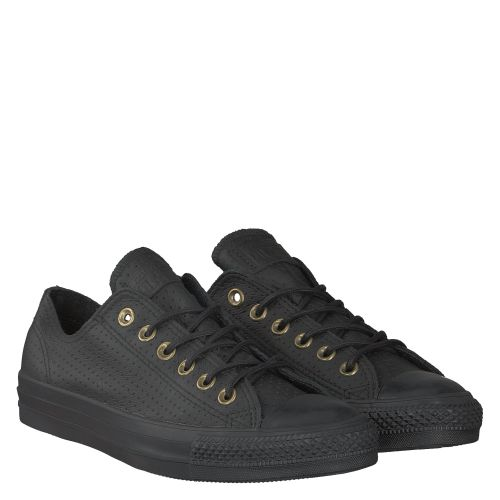 CONVERSE, CTAS CRAFT LEATHER, SCHWARZ