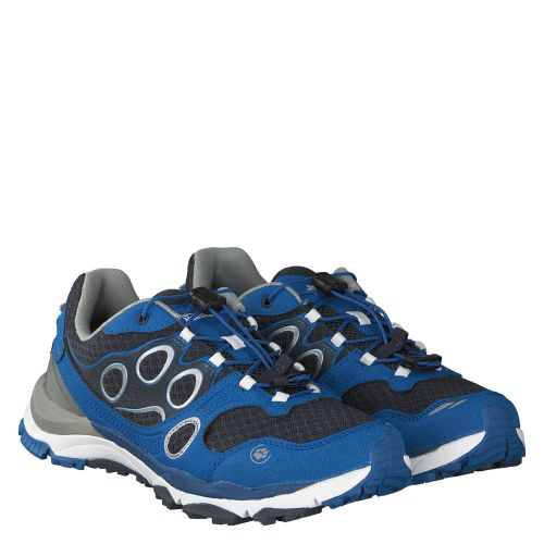 JACK WOLFSKIN, TRAIL EXCITE LOW W, BLAU