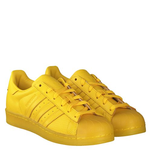 ADIDAS, SUPERSTAR FULL TONAL, GELB
