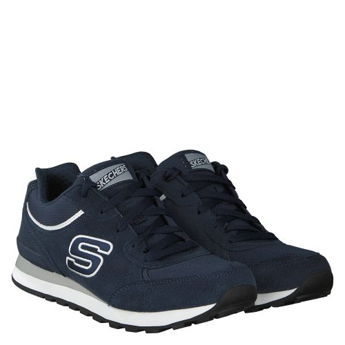 SKECHERS, AIR COOLED/MEMORY FO, BLAU