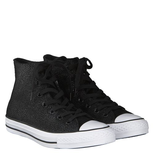 CONVERSE, CTAS LEATHER, SCHWARZ
