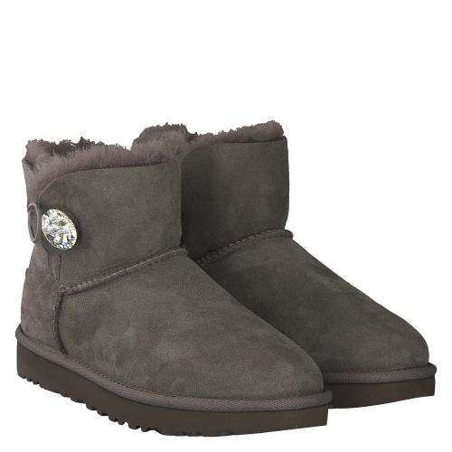 UGG, MINI BAILEY BLING, GRAU