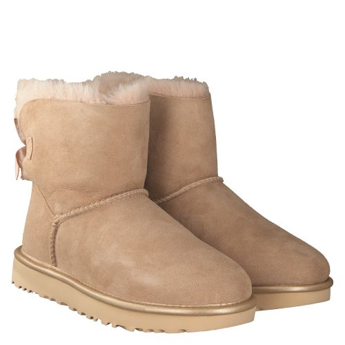 UGG, MINI BAILEY BOW, BEIGE