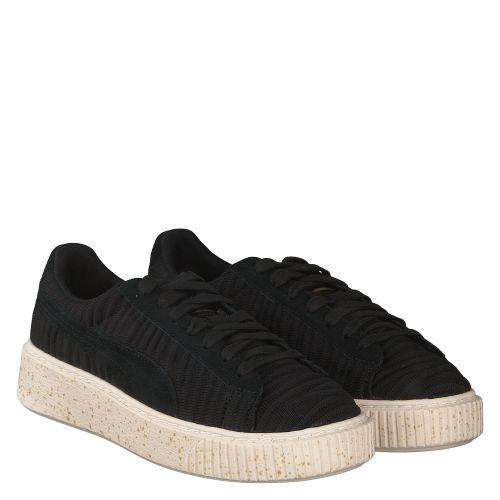 puma basket platform schwarz sneaker. Black Bedroom Furniture Sets. Home Design Ideas