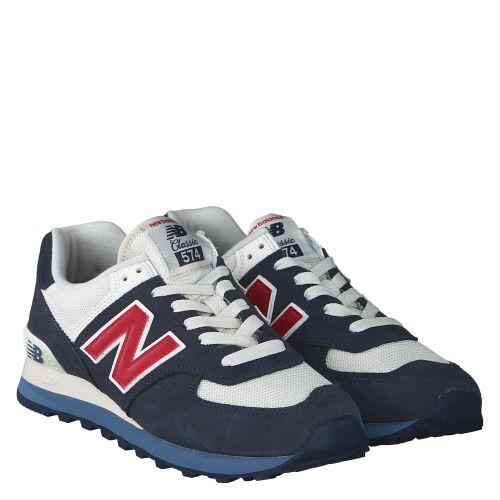 reputable site 2a79e dfb5c NEW BALANCE, ML574ESC, BLAU   Sneaker für Herren