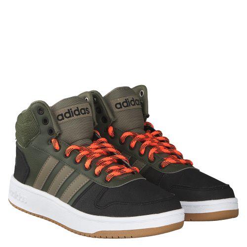 adidas Herren Hoops 2.0 Mid Hohe Sneaker