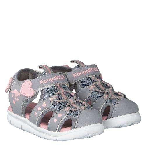 best sneakers 8dd5c f742e KANGAROOS, K-MINI, GRAU | Lauflernschuhe für Mädchen