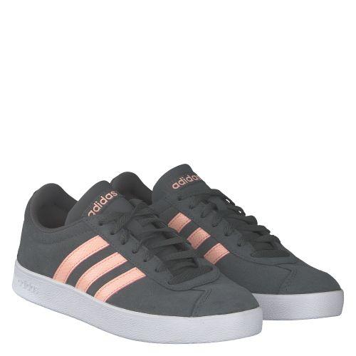 ADIDAS, VL COURT 2.0, GRAU | Sneaker für Damen
