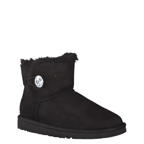 UGG, MINI BAILEY BLING, SCHWARZ