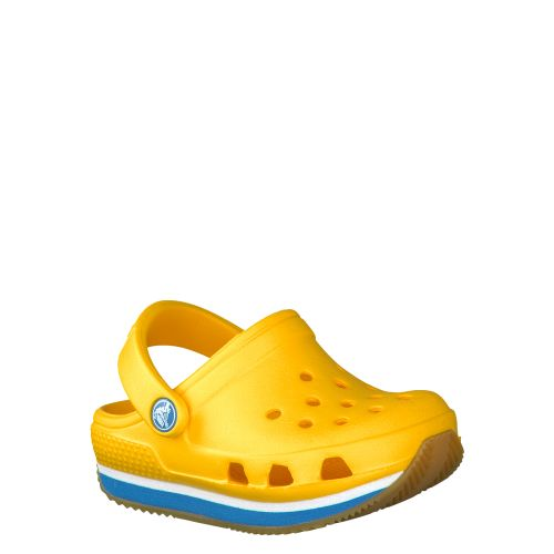 CROCS, RETRO CLOG KIDS, GELB