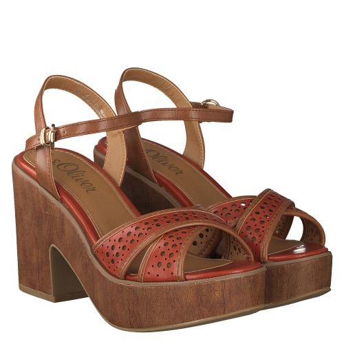 S.OLIVER SCHUHE, ROT