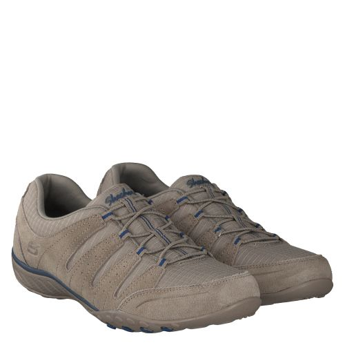 SKECHERS, BREATHE EASY, BEIGE