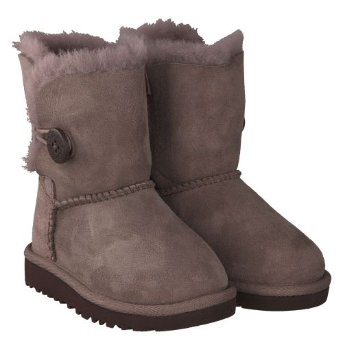 UGG, BAILEY BUTTON, GRAU