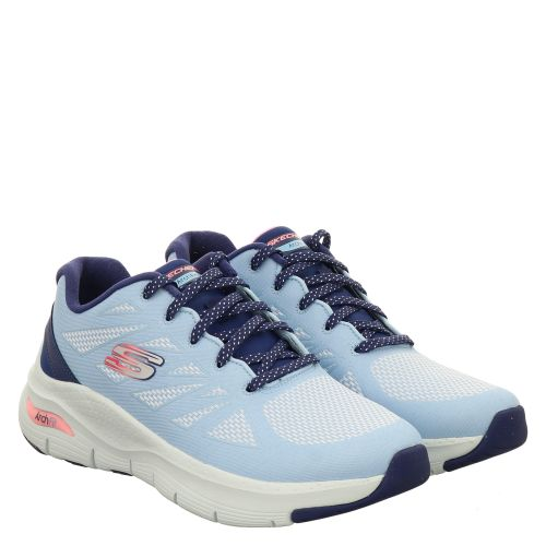 SKECHERS, ARCH FIT SHE'S EFFORTLESS , BLAU