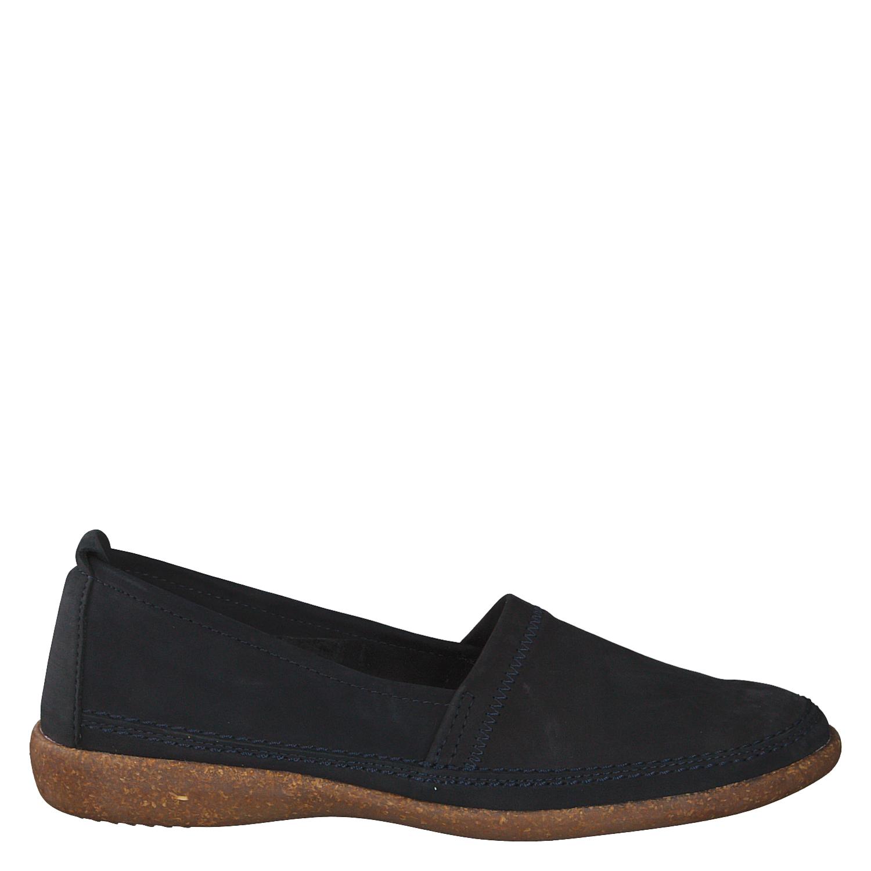 VAN DER LAAN Leder Damen Schuhe Halbschuh Größe 41 schwarz