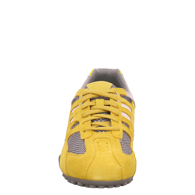 GEOX Sneaker gelb U SNAKE E SUEDE MESH R7loF